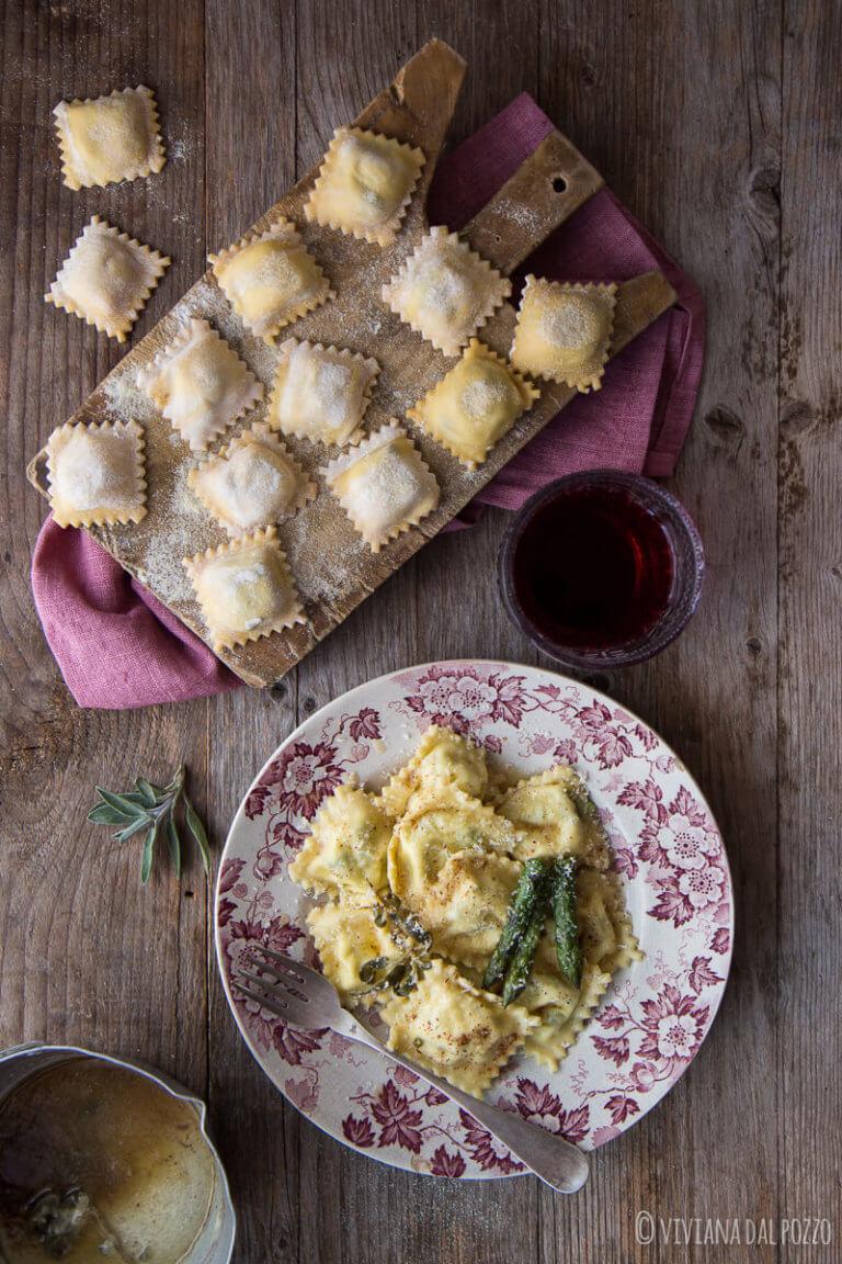 FS ravioli asparagi