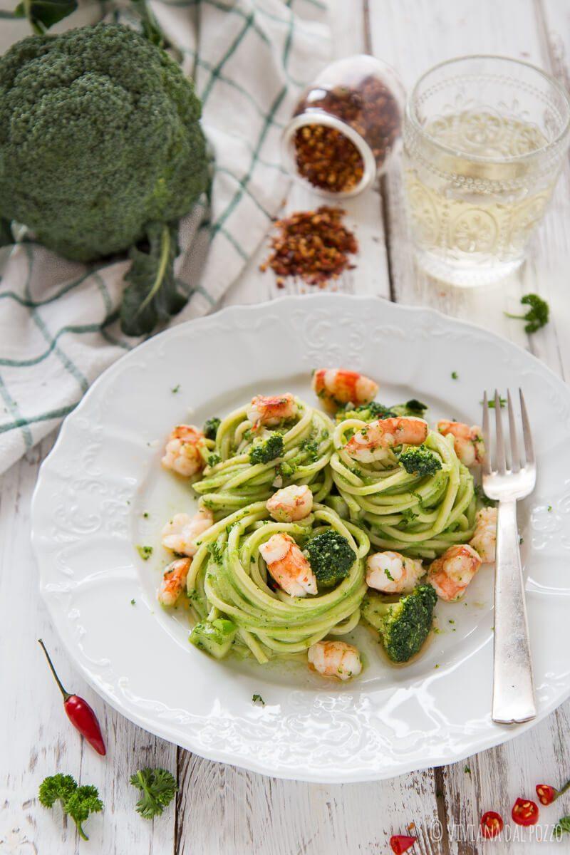 FC Spaghetti gamberoni e broccoletti