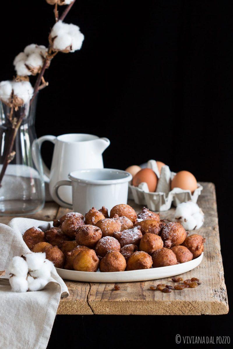 frittelle di carnevale dolci